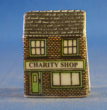 Birchcroft Miniature House Shaped Thimble -- Charity Shop