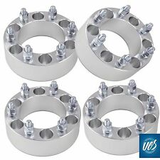 "4pc Billet CHEVY GMC 6x5.5 (6x139.7) 2"" 6 Lug Wheel Adapter Spacers Trucks"