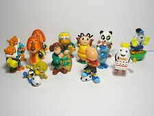 Lot of 13 small kinder surprise egg toy figurine assorted series cake decor