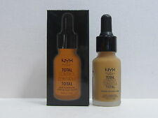 NYX Total Control Drop Foundation color TCDF14 Golden Honey 0.43 oz New In Box