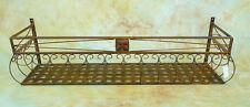 2x 100cm Wand-Blumenkasten Eisen Balkonkasten 0946427m-a