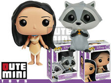 FUNKO POP DISNEY POCAHONTAS AND MEEKO 8656 8657 SET OF 2 VINYL FIGURE - IN STOCK
