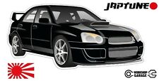 Subaru WRX Impreza   - Black with Factory Rims - JDM - JapTune Brand