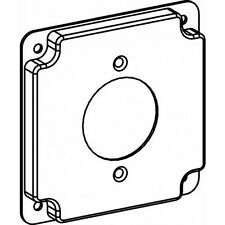 Orbit 4406 4 Inch Square Industrial Cover Power Outlet 1.75 Inch