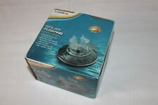 BUTTERFLY SHAPED LED 3 COLOR  FLOATING SOLAR POOL POND LIGHT BY LUMISOL NEW