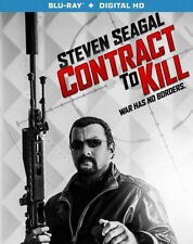 CONTRACT TO KILL (Steven Seagal) - BLU RAY - Region A - Sealed