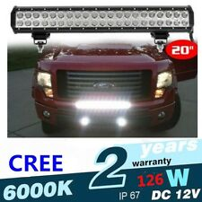 """20"""" 126w Cree LED WROK Light Bar for offroad truck SUV 4WD boat UTE ATV LAMPE"""