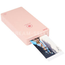 Fujifilm Smart Phone Photo Printer PICKIT M1 (Pink) + Cartridge Paper 10 Sheets