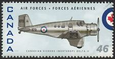 RCAF Canadian Vickers NORTHROP DELTA II Aircraft Stamp