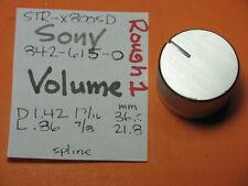 SONY 842-615-0 VOLUME KNOB STR-5800SD STR-6800SD STR-7800SD RECEIVER R1