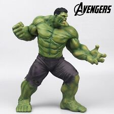 "Super Hero The Avengers Age Of Ultron Green Hulk 22.5cm/9"" PVC Statue Figure NB"
