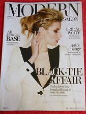 MODERN SALON APRIL 2015 VOLUMIZERS BRIDAL PARTY HAIR EXTENSIONS BLACK TIE
