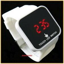New Digital LED Touch Screen Wrist Watch Unisex Men Women Kids School Boys Girls