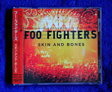 Foo Fighters Skin and Bones cd Japan 15 TRACKS promo sticker NIRVANA  Pearl Jam