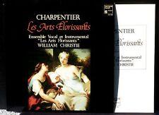 Charpentier Les Arts florissants Christie Harmonia mundi HM 1083 LP & CV NM