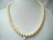VINTAGE MINT NOS WAREHOUSE MADE IN JAPAN FAUX PEARL BEADED NECKLACE!!! WGA362