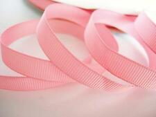 """50 yards Solid Grosgrain 3/8"""" Ribbon 9mm/Gift/Craft/Bow/Light GR38-02 Baby Pink"""