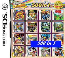 500 games in cartridge Nintendo DS NDS 2DS DSLITE /DSi/3DS/3DS Xl Multigame card