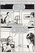 LA LOUVE WEEKEND A PEKIN  (RENAUD) PLANCHE ORIGINALE AREDIT PAGE 176