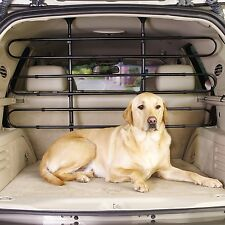 Guardian Gear Vehicle Pet Barrier Heavy-Duty Adjustable Steel Rubber, Black New