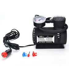 12V Portable Mini Air Compressor 300 PSI Bike Car Tyre Inflator Pump CigaretteUK