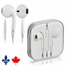 OEM Original Genuine Apple Iphone 4 5 6 Ipad Earphones Earbuds w Mic & Remote