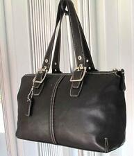 COACH BLACK GLOVE  LEATHER TOTE  BAG LEGACY SATCHEL 9545