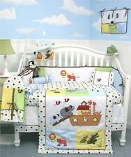 SoHo Noah Ark Baby Crib Nursery Bedding Set 13 pcs included Diaper Bag