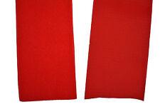 Klettband rot 40mm breit je 1m Klettverschluss Haken- und Flauschband