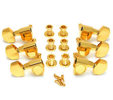 Genuine Gretsch Gold Electromatic Series 3x3 Sealed Guitar Tuners 006-9713-00