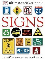 Signs (DK Ultimate Sticker Books) by DK Publishing