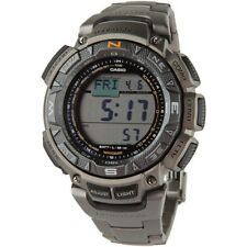 Casio Men's PAG240T-7 Pathfinder Triple Sensor Multi-Function Titanium Watch