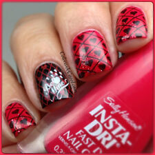 NEW! Sally Hansen INSTA-DRI nail polish RACEY ROUGE ~ Raspberry red creme