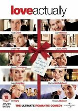 LOVE ACTUALLY (2003 Alan Rickman, Hugh Grant) -  DVD - PAL UK Region 2 - New