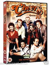 CHEERS COMPLETE SERIES 10 DVD All Episodes Tenth Season UK R2 Release BRAND NEW