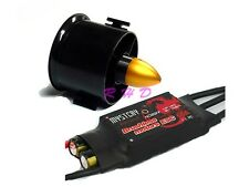 70mm Duct Fan 3000KV Brushless Outrunner Motor& Mystery 60A Brushless ESC