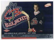 2002-03 Atomic 105 Rick Nash Rookie 897/1300