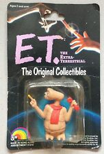 E.T. The Extra Terrestrial : The Original Collectibles -LJN 1982- Sealed Figure
