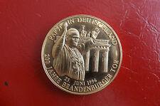 *Münze/Medaille  Vergoldet ca.40mm *Papst J.P in Deutschland (BOX2)