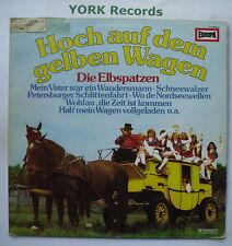 HOCH AUF DEM GELBEN WAGEN - Die Elbspatzen - Ex LP Record Europa 111054.3