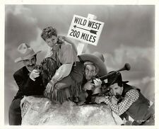 GO WEST (1940) Vntg 8x10 photo of Marx Bros, Diana Lewis / Clarence Bull stamp