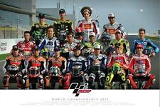 Moto GP : Riders 2011 - Maxi Poster 91.5cm x 61cm (new & sealed)
