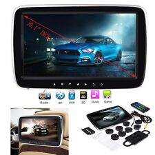 "10.1"" Digital LCD Screen Car Headrest Monitor MP3/TFT/FM/USB Player Game Headset"