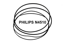 SET BELTS PHILIPS N4510 REEL TO REEL EXTRA STRONG NEW FACTORY FRESH N 4510