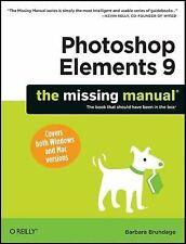 Photoshop Elements 9 by Barbara Brundage (2010, Paperback)