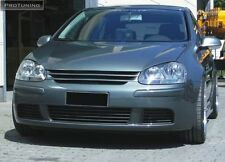 VW GOLF MK V 5 Front Black ABS Badgeless Debadged Grill Gitter not carbon r32 vr