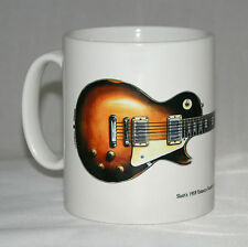 Guitar Mug. Slash's Gibson Les Paul with logo.