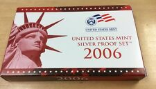 2006 S U.S. Mint 10 coin 90% Silver Proof Set & COA  *Pristine Condition*