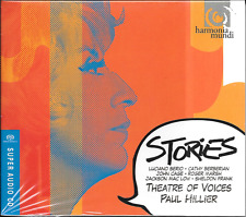 """SACD Paul Hillier """"Theatre of Voices - Stories (Berio and Friends)"""" Neu/New/OVP"""