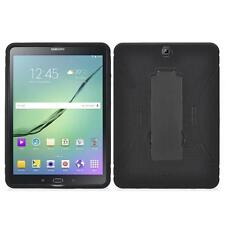 "Black For Samsung Galaxy Tab S2 9.7""/T817 Defender Box Hybird Case Stand+Stylus"